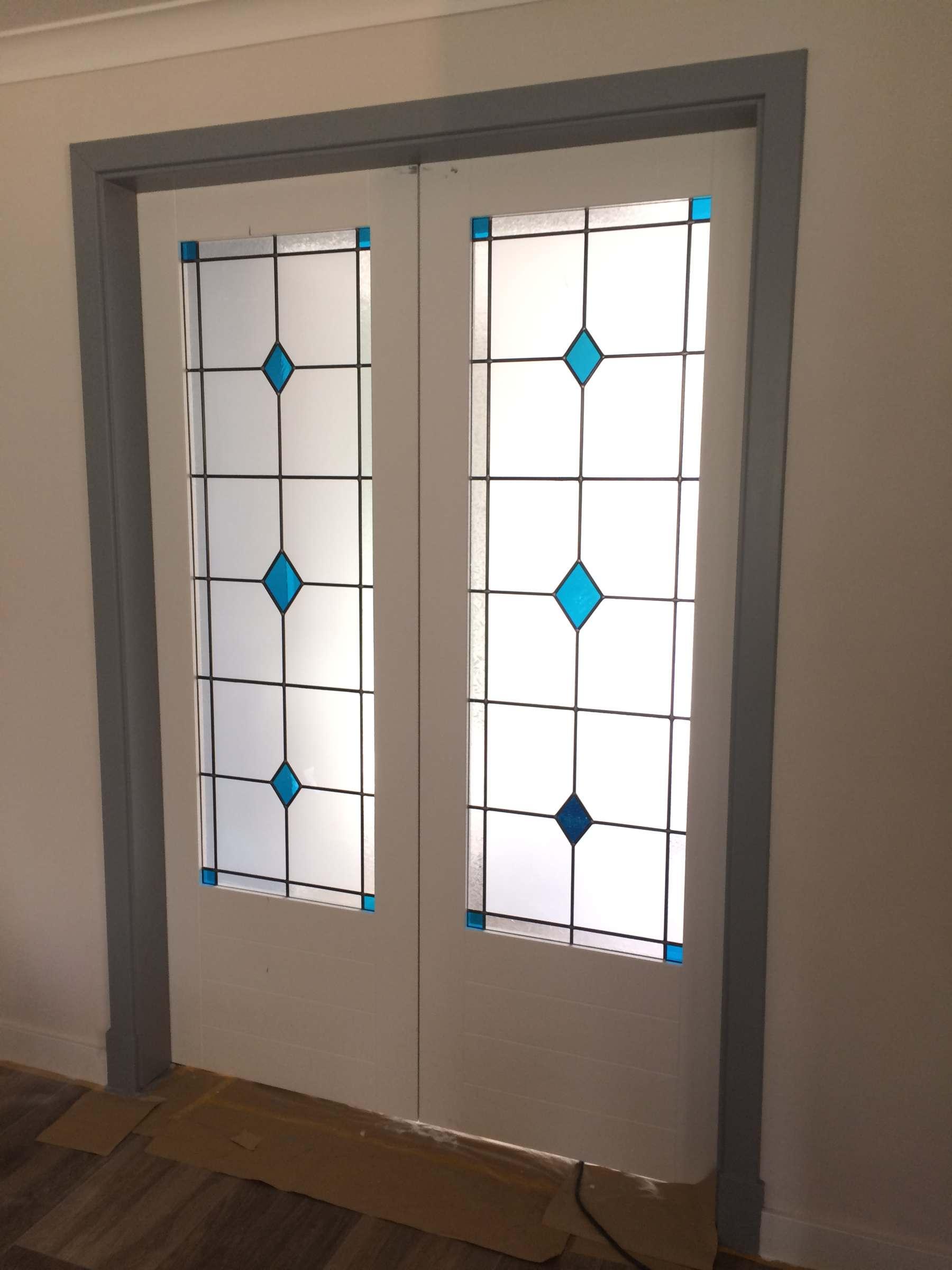 Moderne Glas In Lood Deuren.Glas In Lood De Kempen Glas In Lood Ruiten In Moderne